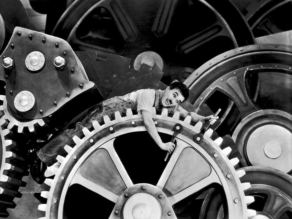 Les outils - Les temps modernes Charlie Chaplin
