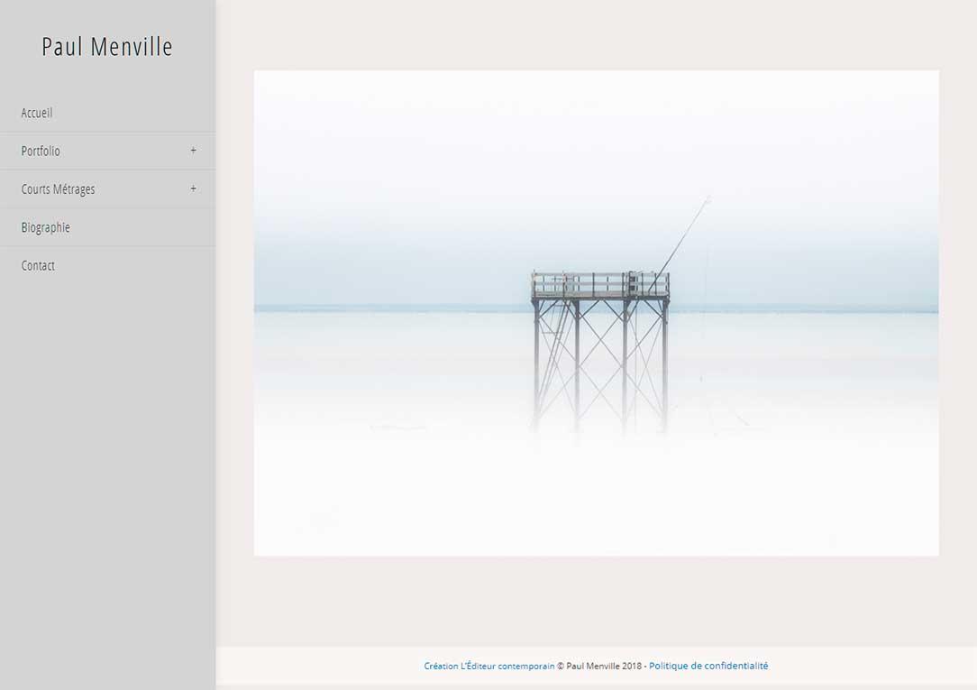 Paul Menville - photographe - vidéaste